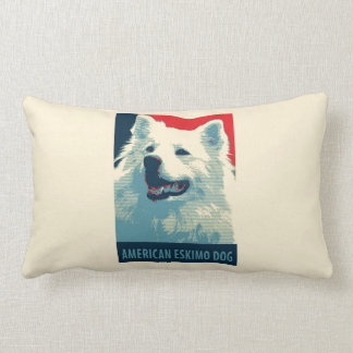 Amerikanische Eskimohundepolitische Lendenkissen