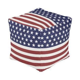 Amerikanische Flagge 4. USA personalisierter Hocker