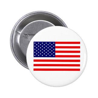 Amerikanische Flagge Anstecknadelbuttons