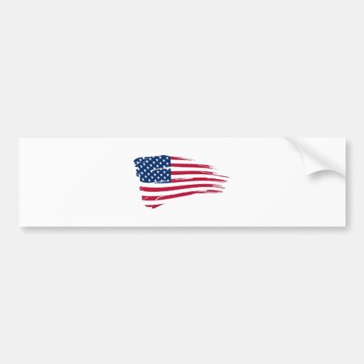 Amerikanische Flagge Auto Aufkleber