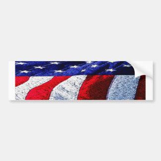 Amerikanische Flagge Autoaufkleber