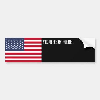 Amerikanische Flagge Auto Sticker