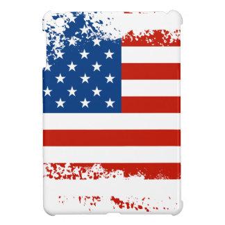 Amerikanische Flagge beunruhigt iPad Mini Hülle