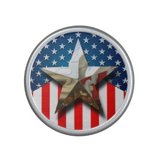 Amerikanische Flagge Bluetooth Lautsprecher