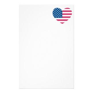Amerikanische Flagge Briefpapier
