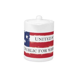 Amerikanische Flagge Bürgschaft Vintag