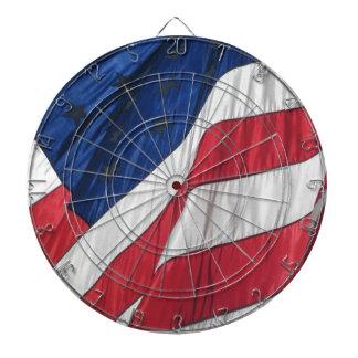 Amerikanische Flagge Dartscheibe