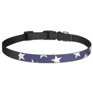 Amerikanische Flagge - feiern Sie die USA - 4. Haustierhalsband