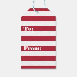 Amerikanische Flagge Geschenkanhänger