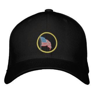 Amerikanische Flagge gestickter Hut Bestickte Baseballcaps