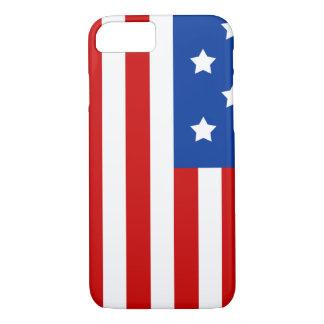 Amerikanische Flagge hell und mutig iPhone 8/7 Hülle