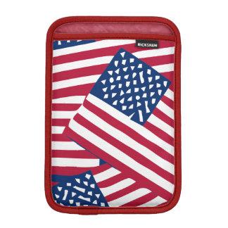 Amerikanische Flagge in der Deckung Sleeve Für iPad Mini