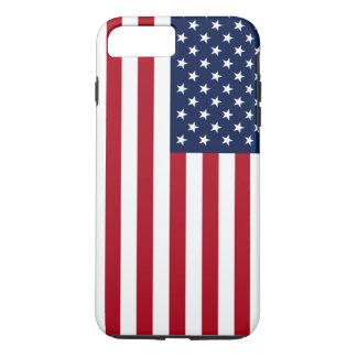 Amerikanische Flagge iPhone 8 Plus/7 Plus Hülle