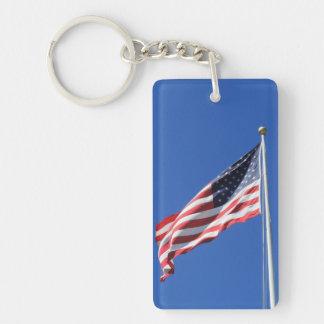 Amerikanische Flagge Keychain Schlüsselanhänger