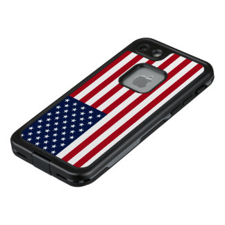 Amerikanische Flagge LifeProof FRÄ' iPhone 8/7 Hülle
