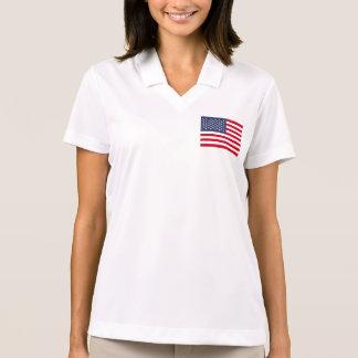 Amerikanische Flagge Polo Shirt
