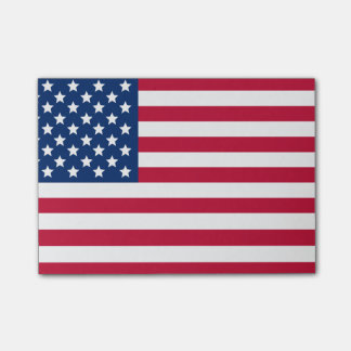 Amerikanische Flagge Post-it Klebezettel