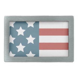 Amerikanische Flagge Rechteckige Gürtelschnalle