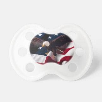 Amerikanische Flagge Schnuller