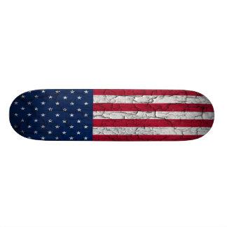 Amerikanische Flagge Individuelle Skatedecks