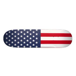Amerikanische Flagge Skateboard Brett