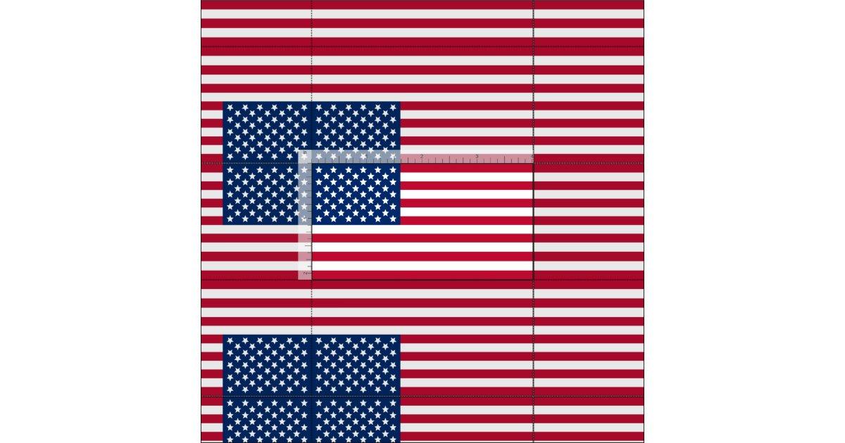 Stoff Amerikanische Flagge