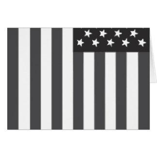Amerikanische Flagge überwunden Karte