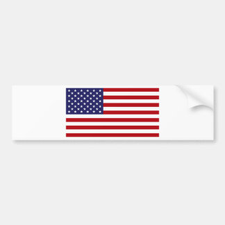 Amerikanische Flagge - US Flagge - alter Ruhm Autoaufkleber