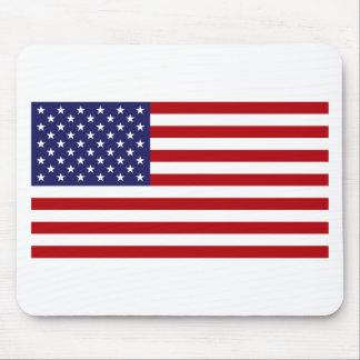 Amerikanische Flagge - US Flagge - alter Ruhm Mousepad