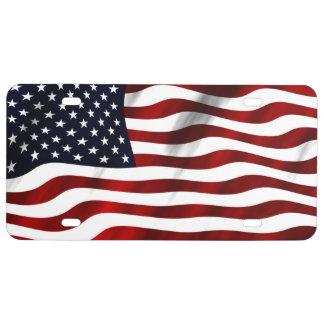 Amerikanische Flagge US Nummernschild