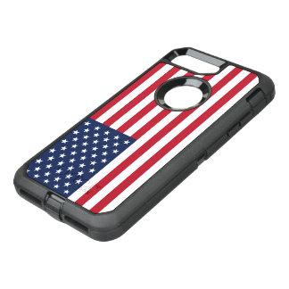 Amerikanische Flagge USA OtterBox Defender iPhone 8 Plus/7 Plus Hülle