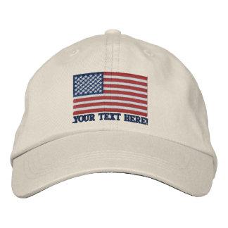 Amerikanische Flagge USA personifizieren es! Große Bestickte Baseballmützen