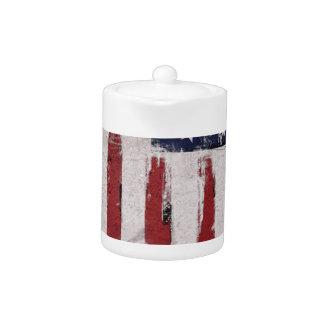 Amerikanische Flagge Vintager Patriot