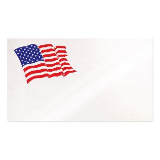 Amerikanische Flagge Visitenkarten