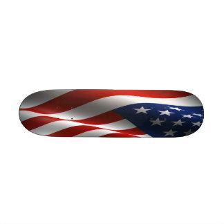 Amerikanische Flagge Wcked MiniSkateboard Personalisierte Skateboards
