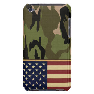 Amerikanische Flaggen-Camouflage iPod Touch Cover