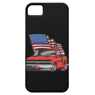 Amerikanische Flaggen-Lieferwagen tauscht iPhone Barely There iPhone 5 Hülle
