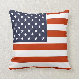Amerikanische Flaggen-patriotisches 9 Foto Zierkissen