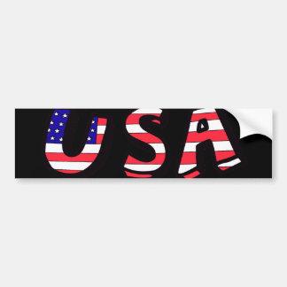 Amerikanische Flaggen-roter weißer blauer Autoaufkleber