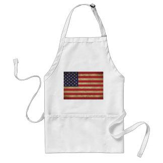 Amerikanische Flaggen-Schürze