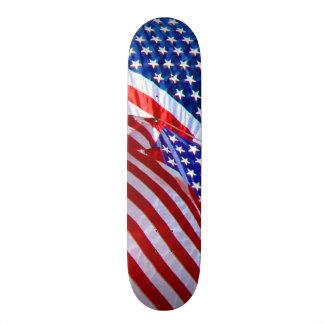 Amerikanische Flaggen Individuelle Decks