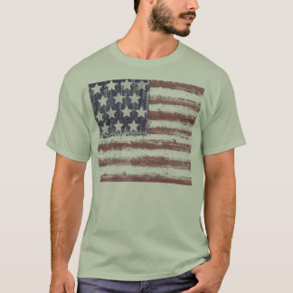AMERIKANISCHE FLAGGEN-T-SHIRT, USA, T-Shirt