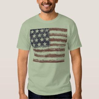 AMERIKANISCHE FLAGGEN-T-SHIRT, USA, T SHIRTS