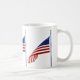Amerikanische Flaggen-Tasse Tasse