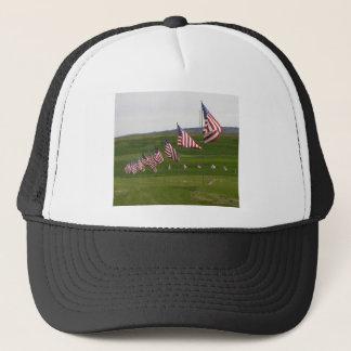 Amerikanische Flaggen Truckerkappe