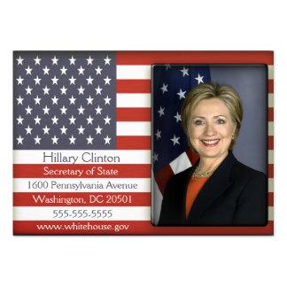 Amerikanische Flaggen-Visitenkarten Jumbo-Visitenkarten