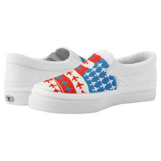 Amerikanische Flugzeuge Slip-On Sneaker