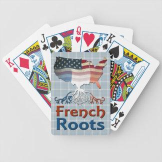 Amerikanische Franzosen wurzeln Kartensatz Bicycle Spielkarten