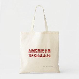 """""""Amerikanische Frauen-"""" Fahnen-Art Tragetasche"""