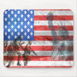 Amerikanische Freiheit Mousepad